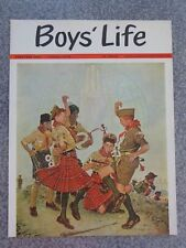 Vintage 1963 Norman Rockwell Boys Life Magazine Cover Very Nice