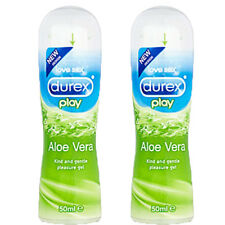 2 x DUREX Play Lube, Lubricant, Feel, Strawberry, Cherry Flavoured lube