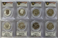 2014 50th Anniversary Kennedy Half Dollar 4-pc Set PCGS 70 First Strike (Denver)