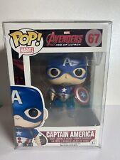 Funko Pop! Marvel Avengers: Age of Ultron Captain America 67 Vaulted