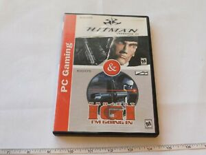 Hitman Codename 47 & Project IGI I'm Going In PC Gaming Rated Mature +17 2 Discs