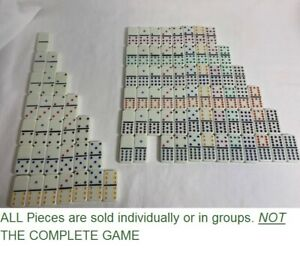 U-PICK 2003 Fundex Mexican Train Dominoes Game - pick a part