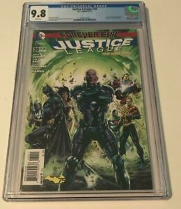 DC New 52 JUSTICE LEAGUE #30 CGC 9.8 2ND CAMEO APPEARANCE OF JESSICA CRUZE FACE
