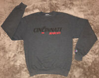 Vintage Champion Cincinnati Bearcats Sweat Shirt Sz Adult Medium No Tag Clean