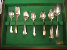 Lady Betty Silverplate 1940 Service for 8 Interational Silver 49 pieces w/ Chest