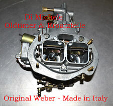 34 DMS 202 CARBURADOR WEBER MADE IN ITALY NUEVO Old Stock P. EJ. FIAT 124 Spider