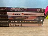 PlayStation 2, PS 2 Lot Of 5 Games : Need For Speed, Sat Night Speedway Racing