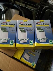 3 boxes of 3 Tetra whisper 26218 Medium 5-15 Carbon Filter Cartridges 9 filters