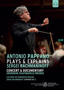 Antonio Pappano - Plays & Explains Sergej Rachmaninov DVD ADA UK