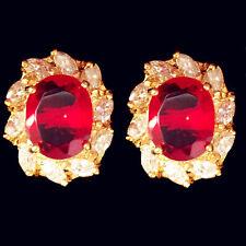 Ovaler Mode-Ohrschmuck aus Stein mit