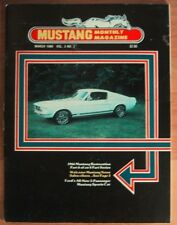 MUSTANG MONTHLY 1980 MAR - LUCANO GHIA, SHELBY VALUES