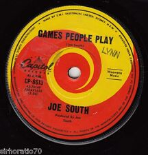 JOE SOUTH  Games People Play / Mirror Of Your Mind 45