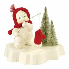 SNOWBABIES Catch Of The Day Figurine