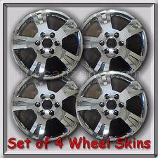 "Set of 4 Chrome Acadia Wheel Skins Hubcaps 18"" 2011-2012 GMC Acadia Wheel Covers"