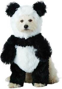 Cute Panda Pooch Stuffed Body Animals Nature Pet Halloween Costume PET20163