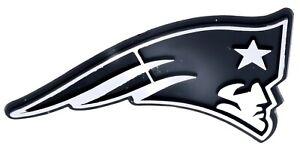 New England Patriots NFL Car Truck Automotive Grill Emblem Chrome Finish F3D14L