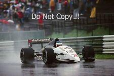 Philippe Streiff Tyrell DG016 Austrian Grand Prix 1987 Photograph