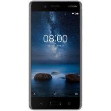 Nokia 8 Dual SIM - 64 GB - Stahl Grau (Stainless)
