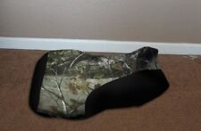 Yamaha Kodiak 400 450 2000 & up Camo and Black Seat #hcs151c144