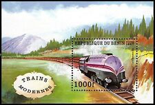 "BENIN 965 - Historical Locomotives ""Coronation Scot"" 1937 (pa51822)"