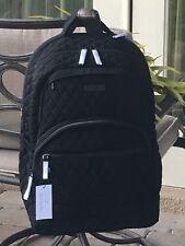 VERA BRADLEY LARGE CAMPUS ESSENTIAL BACKPACK SCHOOL LAPTOP BOOK $189 BLACK