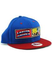 New Era Captain America 9fifty Snapback Hat Adjustable Marvel Classic Panel NWT