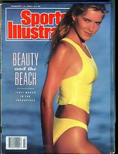 Sports Illustrated Magazine February 12 1990 Judit Masco VG No ML 030717nonjhe
