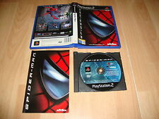 SPIDER-MAN SPIDERMAN 1 DE ACTIVISION PARA SONY PLAY STATION 2 PS2 USADO COMPLETO