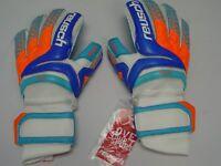 Reusch Soccer Goalie Gloves PRISMA Pro AX2 OrthoTec Finger Stays 3870450S SAMPLE