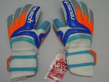 Reusch Soccer Goalie Gloves PRISMA Pro AX2 OrthoTec Finger Stays 3870450S SAMPLE