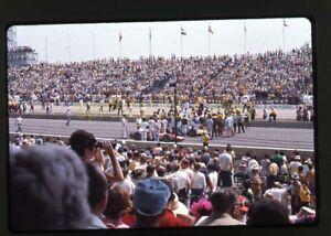 1969 USAC Indy 500 - Pre-Race / Gordon Johncock #82 - Vtg 35mm Slides Lot of 4