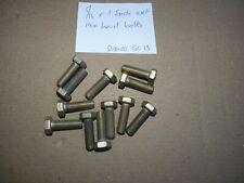20 SCREWS 5 BA X 1//4 CHEESEHEAD STEEL FREEPOST