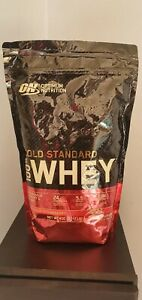 Optimum Nutrition Gold Standard 100% Whey Protein Powder - Delicious Strawberry