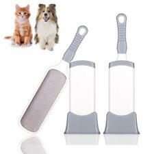 Reusable Pet Fur Fluff Hair Dust Lint Roll Remover Brush with Self Cleaning Base