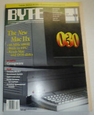 Byte Magazine The New Mac IIx Compaq 286 SLT December 1988 120314R2