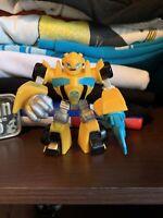 "Hasbro Heroes Transformers Rescue Bots Bumblebee 3.5"" Action Figure Playskool"