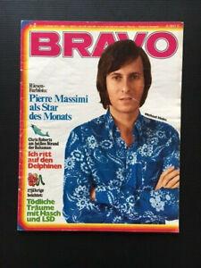 BRAVO 9.1.-.15.1971 zum 50. Geburtstag mit Chris Roberts GITTE Veres LSD Drogen