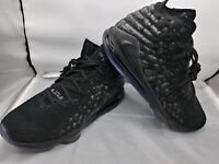 "Nike Lebron 17 XVII ""Currency"" Basketball Shoes Black BQ3177-001 Men's Size 16"