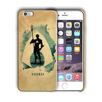 Super Hero Aquaman Iphone 4s 5 5s 5c SE 6 6s 7 8 X XS Max XR 11 Pro Plus Case n8