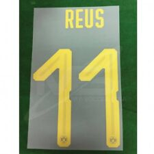 OFFICIAL BORUSSIA DORTMUND BVB Away 2018-19 NAMESET PLAYER PU PRINT