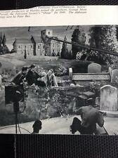 N1-2 Ephemera 1950 Picture Tv Bbc George More O'ferrall Oscar 1948