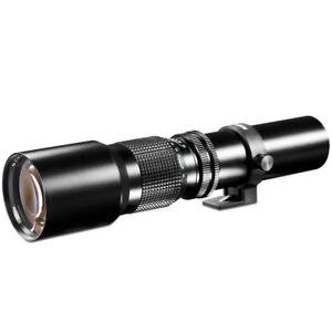 walimex 500mm 1:8,0 Linsen Tele Objektiv für Micro Four Thirds MFT