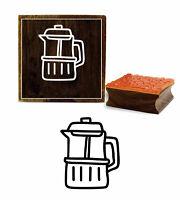 Printtoo Schrott-Buchung Krug Design Holz Stempel Tagebuch Karte-d9K