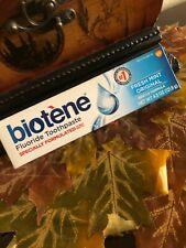 Biotene Fluoride Toothpaste Fresh Mint Original Gentle Formula 4.3 oz.