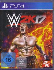 WWE 2K17 (Sony PlayStation 4, 2016, DVD-Box) - European Version
