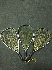 New listing 3 Demo Head Intelligence 165G Racquetball Racquets 3 5/8 Grip