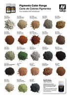 Vallejo 35ml Weathering Pigments Color Range - Pick From Full Range Of Colours