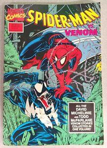 Spider-Man vs Venom TPB Marvel 1990 McFarlane 1st Print ASM 298-300 315-317 VF