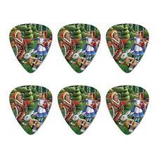 Alice in Wonderland Garden Party Novelty Guitar Picks Medium Gauge - Set of 6