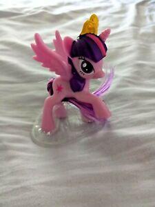 My Little Pony McDonalds Toy #1 PRINCESS TWILIGHT SPARKLE 2014 G4 Purple Pegasus